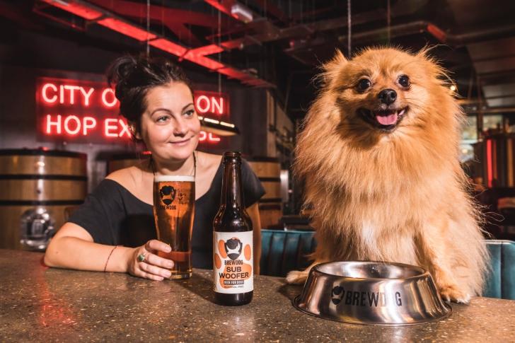 Пивоварня BrewDog выпустила IPA для собак