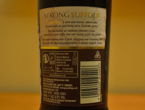 Strong Suffolk Vintage Ale