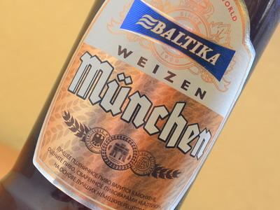 Baltika Munchen Weizen / Балтика Мюнхен Пшеничное
