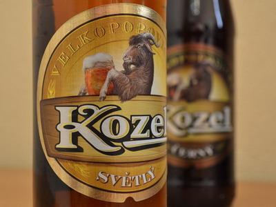 Честное пиво (Velkopopovicky Kozel Svetly)