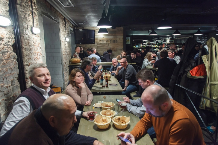 Новый бар крафтового пива «Крапиvа»