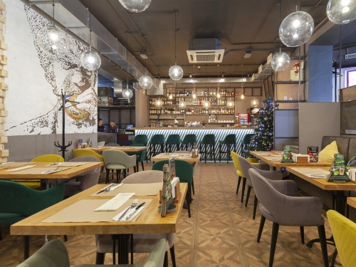 Crafted Grill Bar City / Крафтед Бар Сити